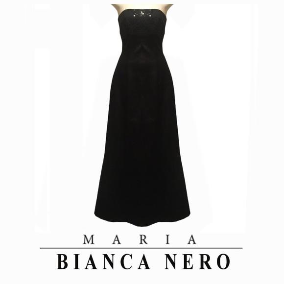 Maria Bianca Nero Dresses & Skirts - Bianca Nero Special Occasion Satin Prom Dress Gown